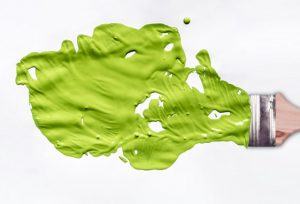Comparing Green Paints When House Painting In Concord