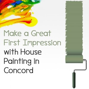 Make a Great First Impression with House Painting in Concord