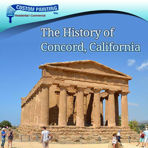 The History of Concord, California