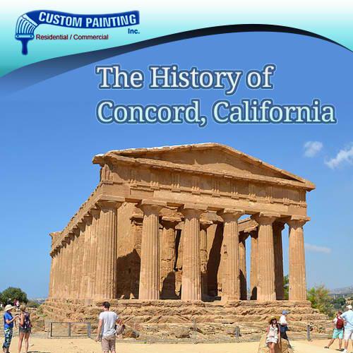 The History of Concord, California