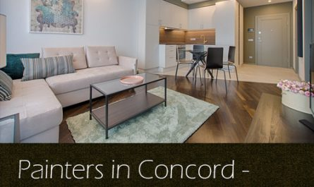 Painters in Concord – Preparing Your Interior for Painting